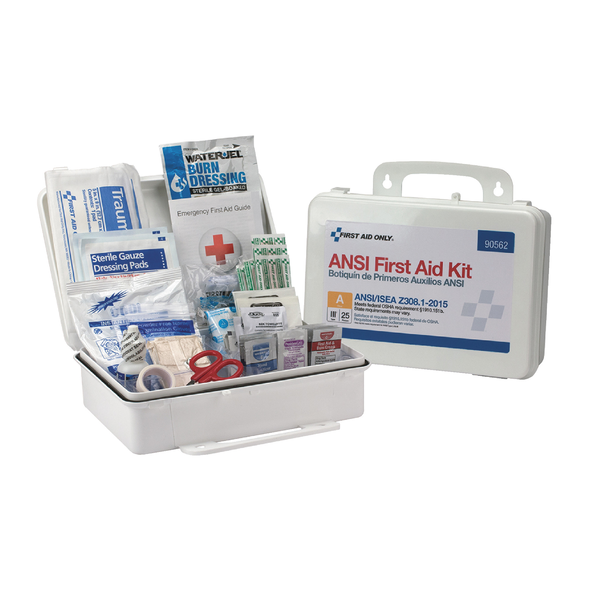 25 Person Plastic First Aid Kit ANSI A