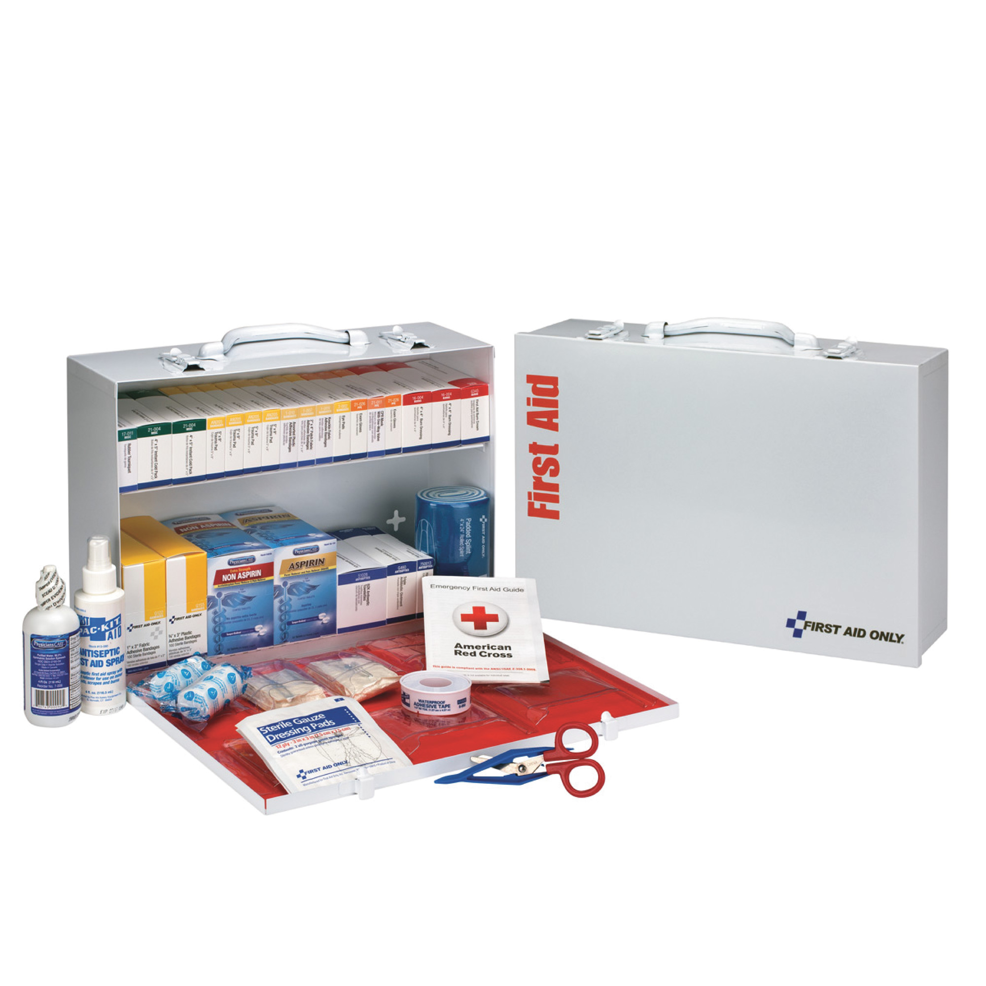 100 Person Metal First Aid Kit