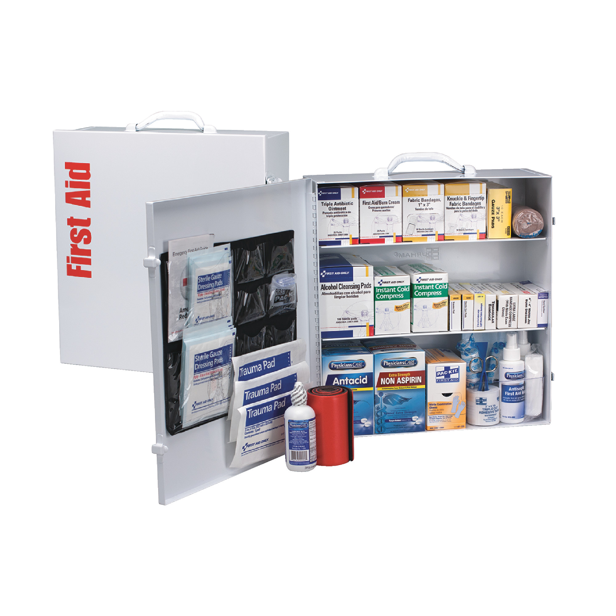 125 Person Metal First Aid Kit