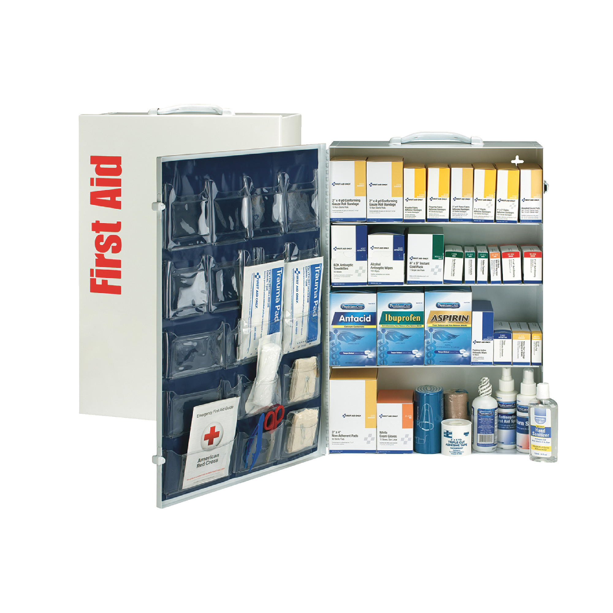 150 Person Metal First Aid Kit