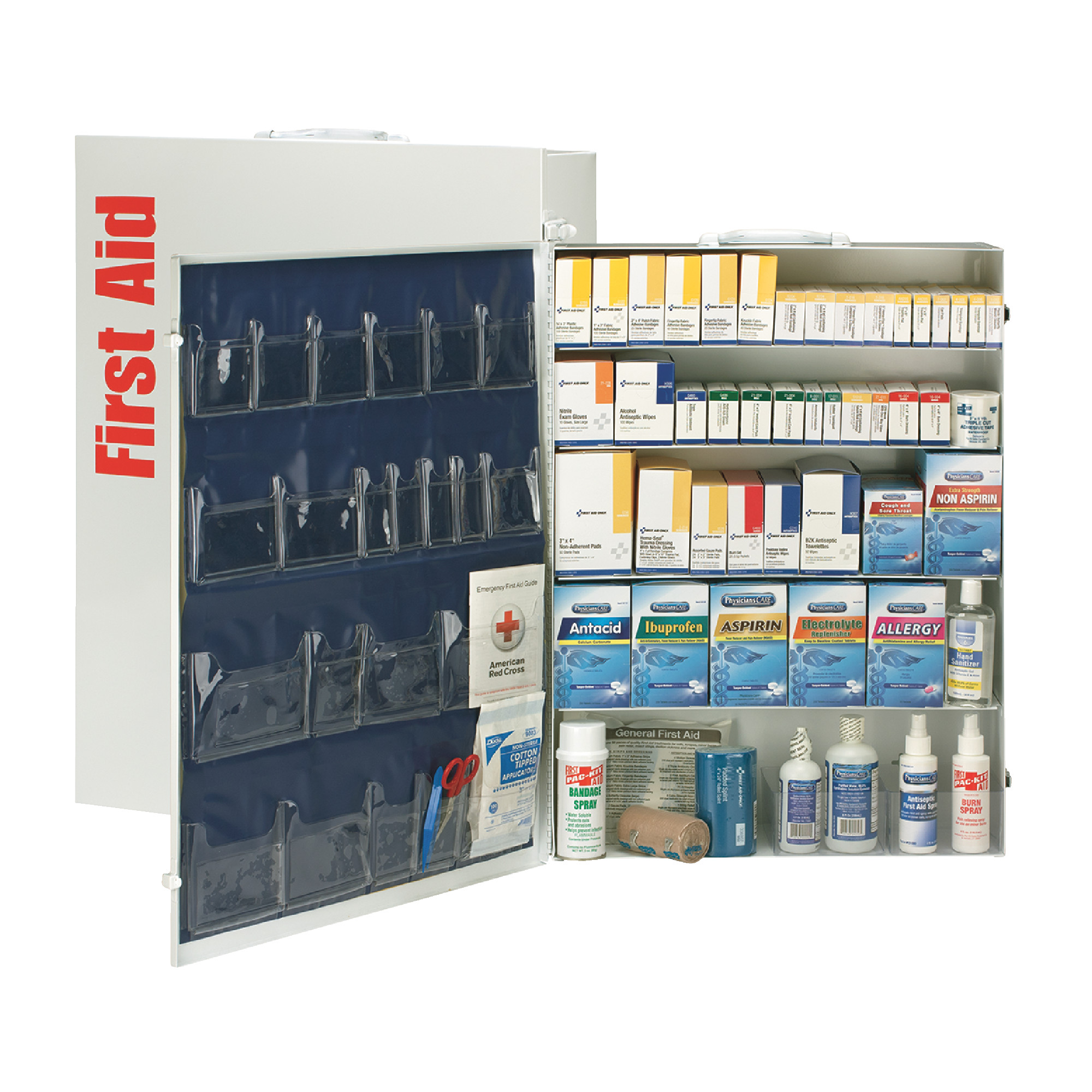 200 Person Metal First Aid Kit