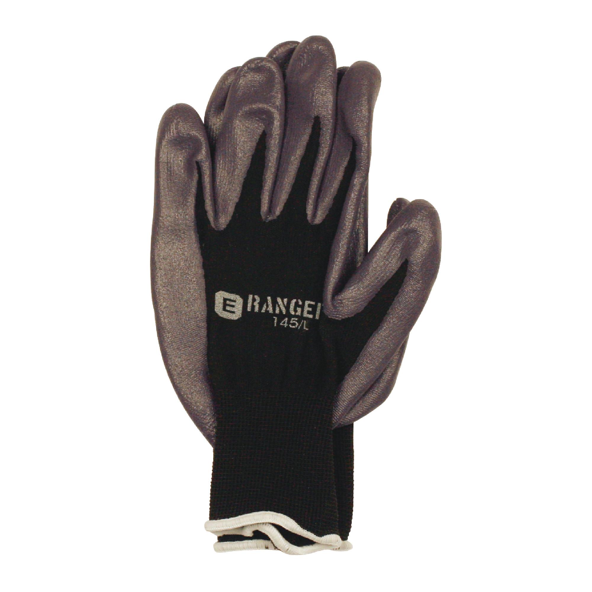 13 Gauge Nitrile Foam Dipped Glove IN Large
