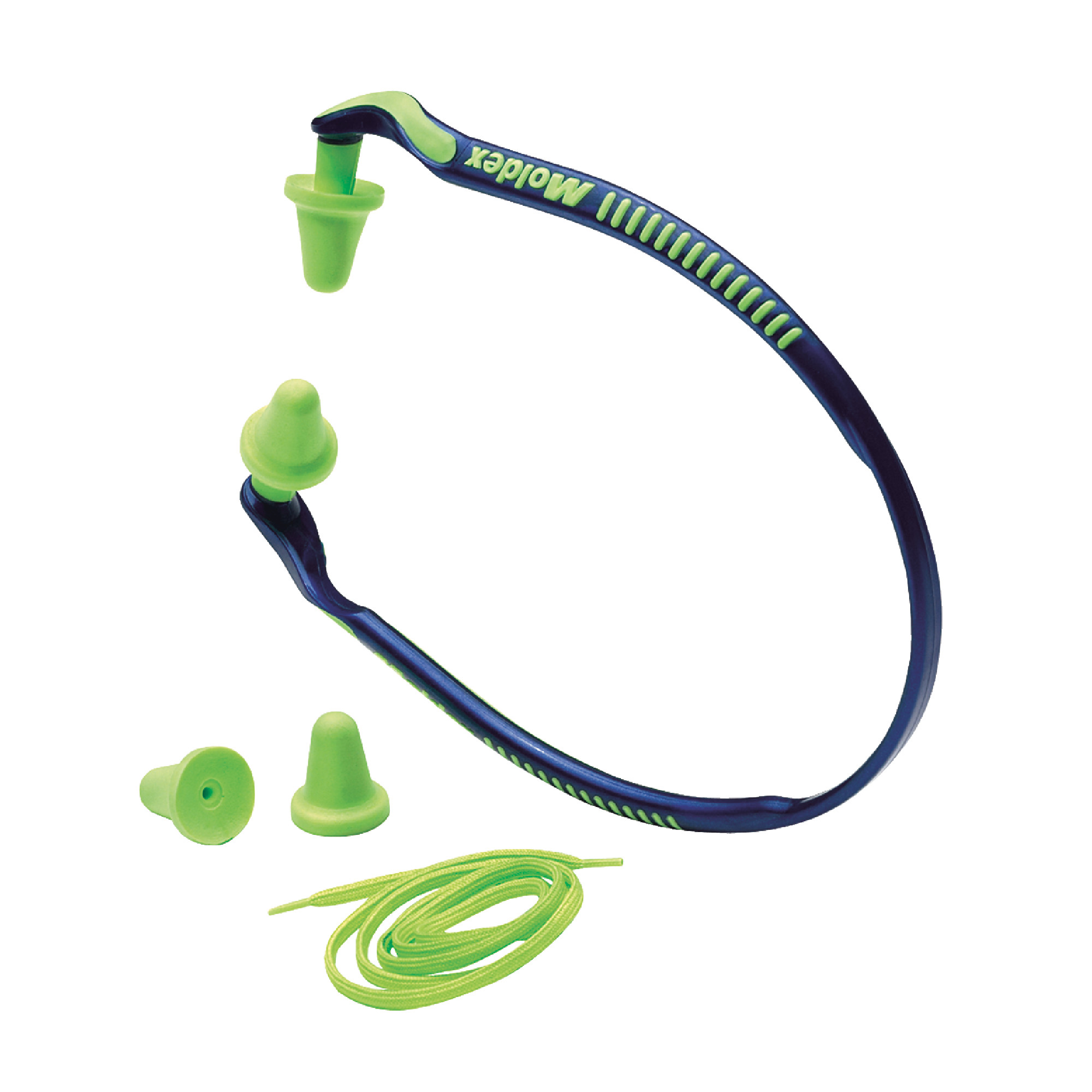 Banded Hearing Protector w/Optional Neck Cord and Spare Pods