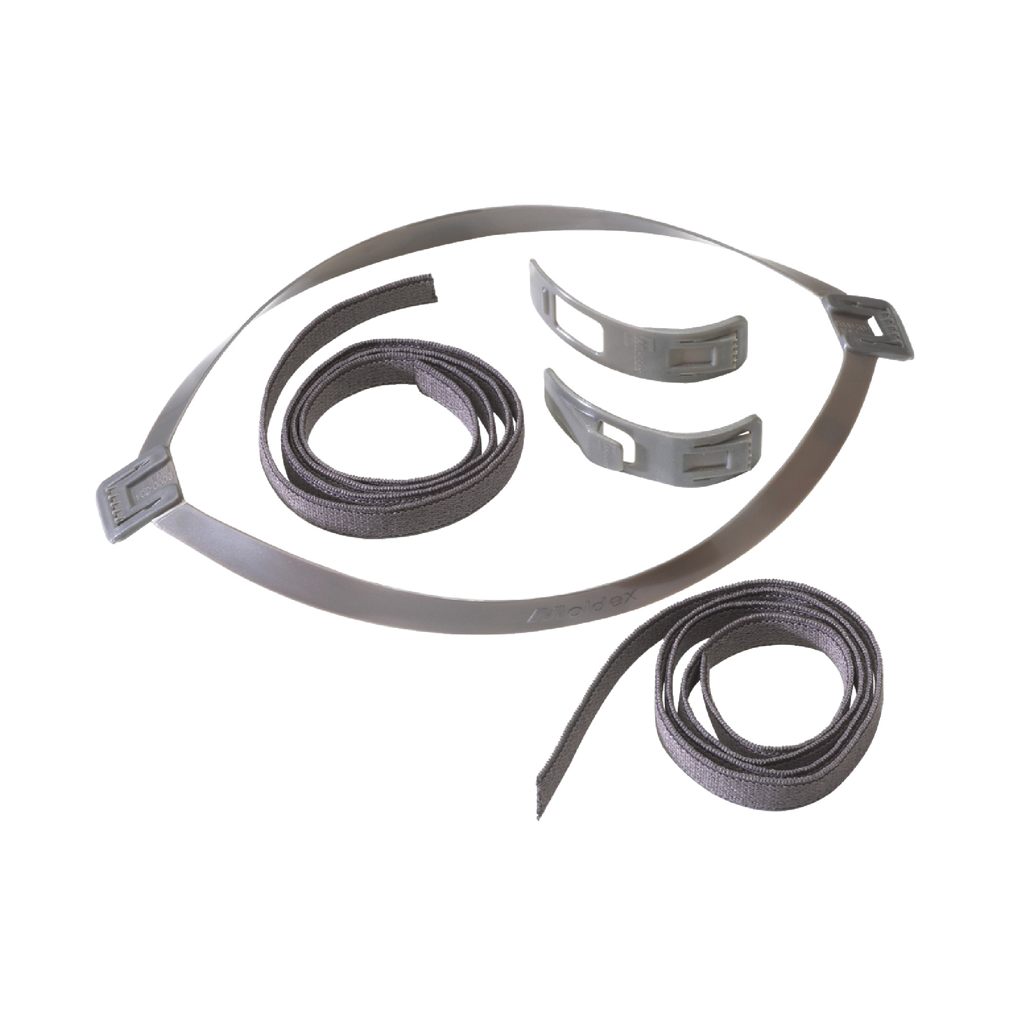 Replacement Parts: Head Strap Assembly (Includes Yokes, Buckles and 2 Straps) for 8000 Series Half Mask Respirator