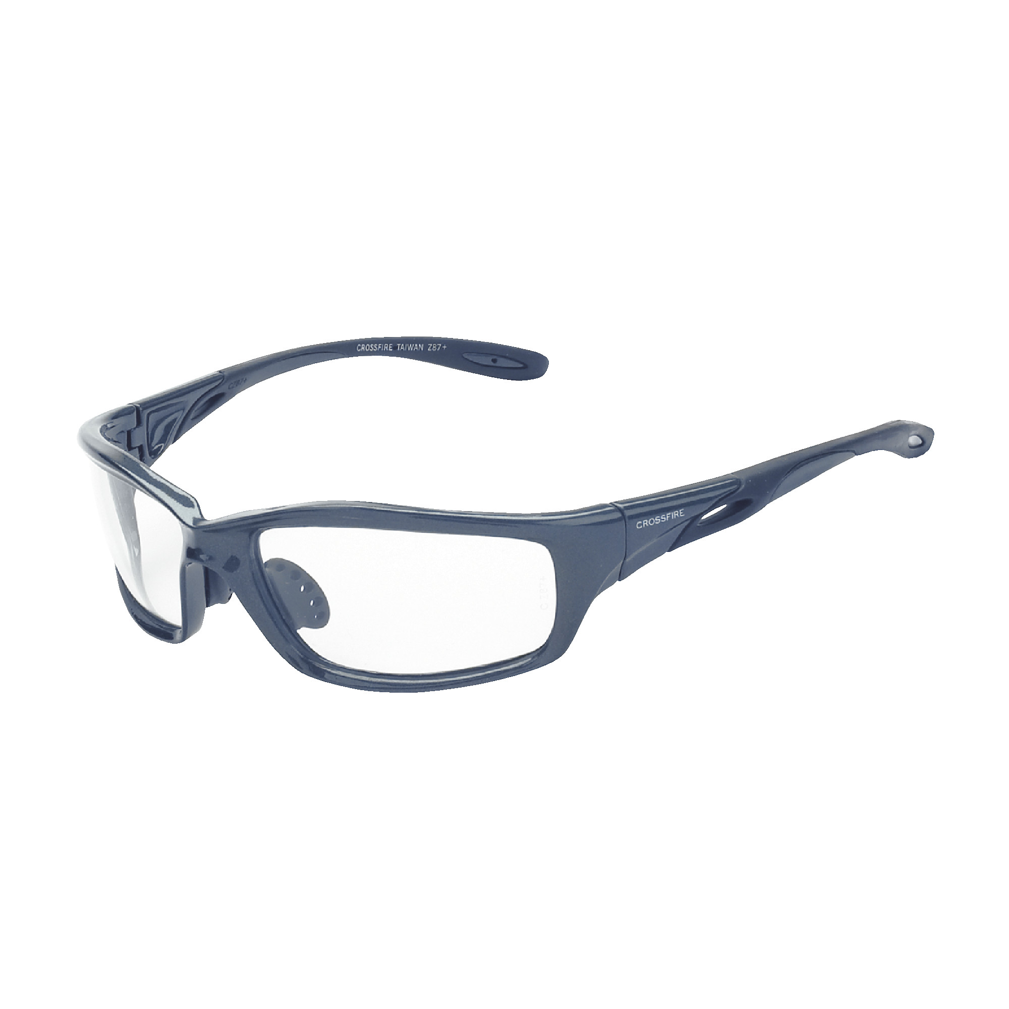 224 INFINITY GREY FRAME CLEAR LENS - CROSSFIRE