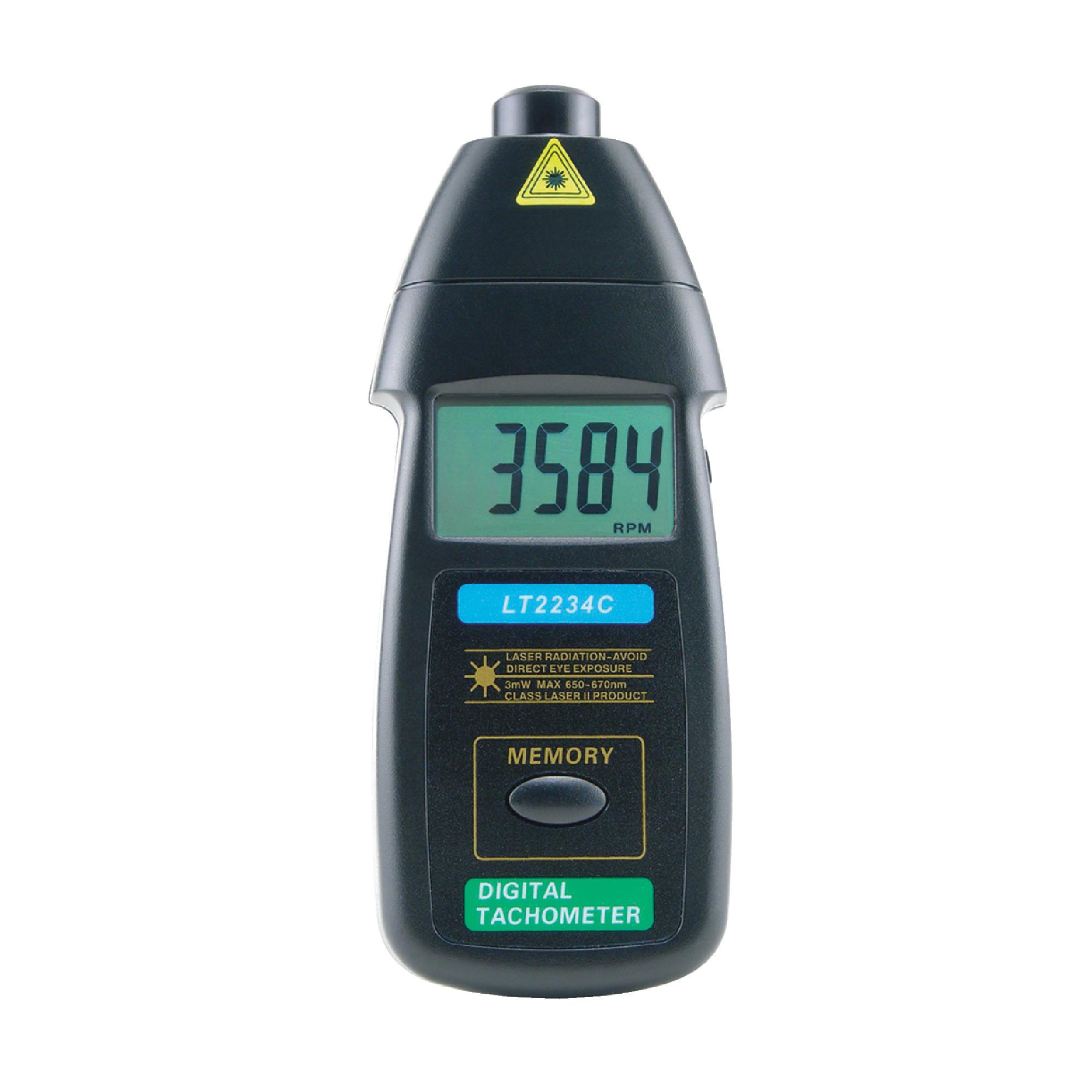 Non-Contact Laser Tachometer