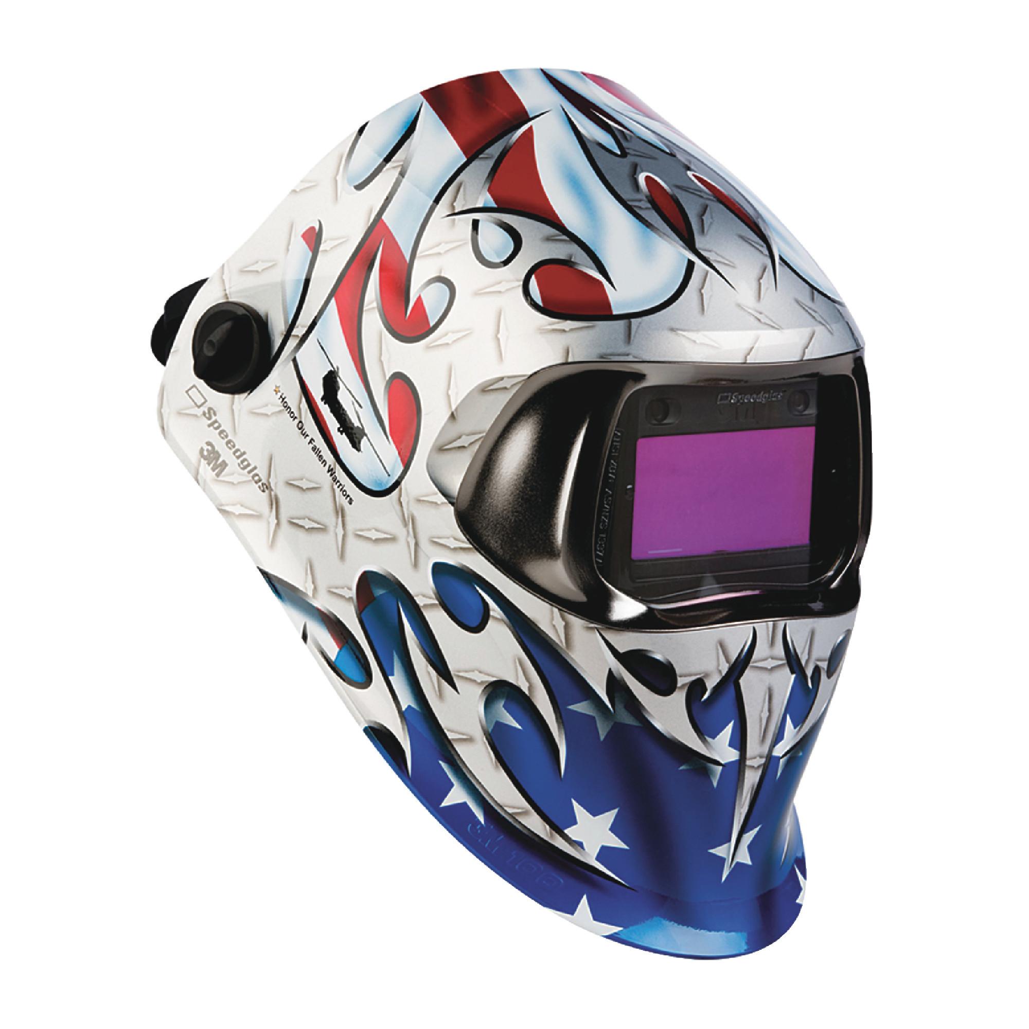 "Speedglas100 Welding Helmet Tribute with ADF 100V 1.73"" x 3.66"""