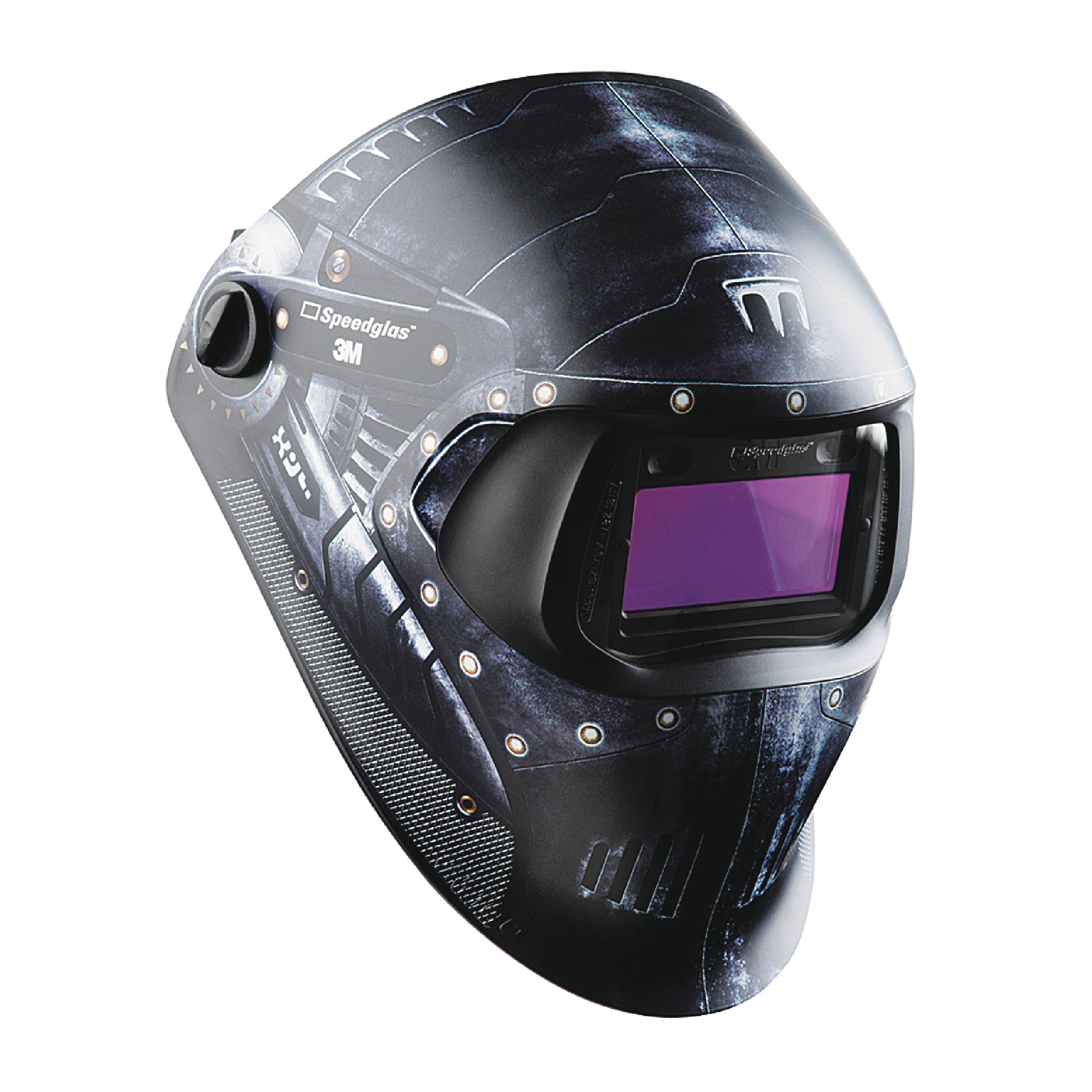 """Speedglas™ 100 Welding Helmet Trojan Warrior with ADF 100V 1.73"""" x 3.66"""""""
