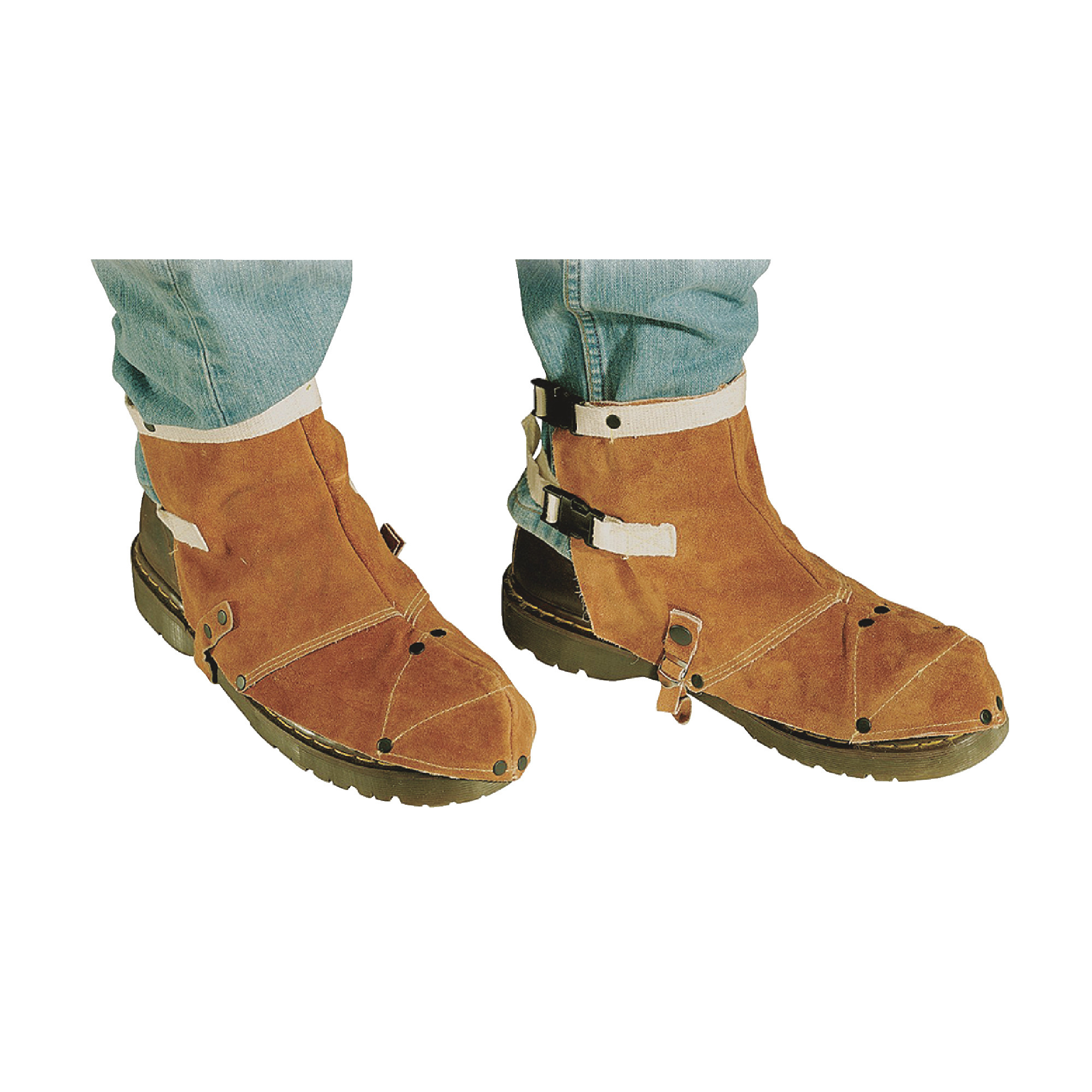 Side Split Cowhide Standard Shoe Protectors