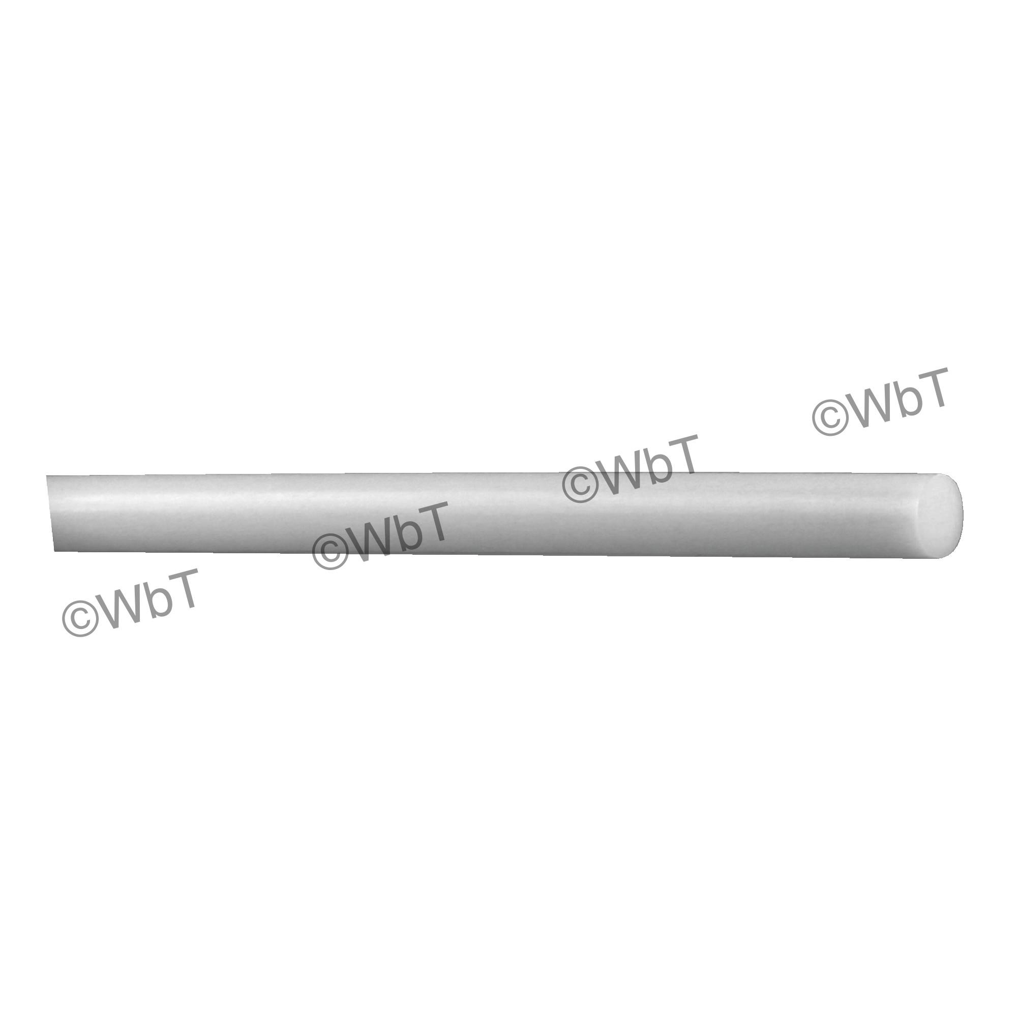 """""""UHMW"""" Ultra-High Molecular Weight Polyethylene Rod"""