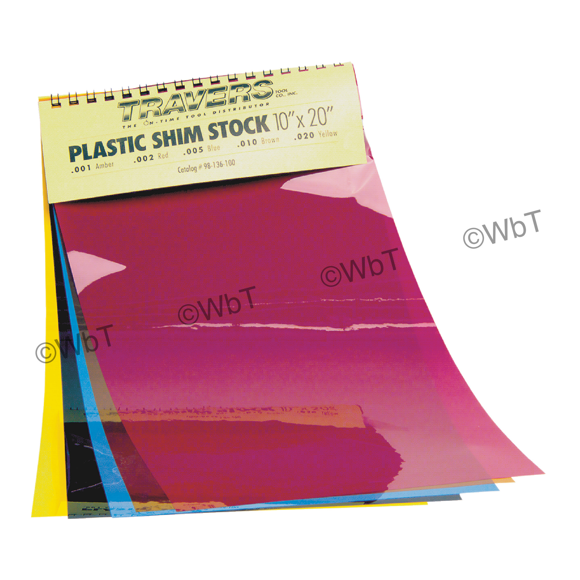 Plastic Shim Sheet Stock Assortment