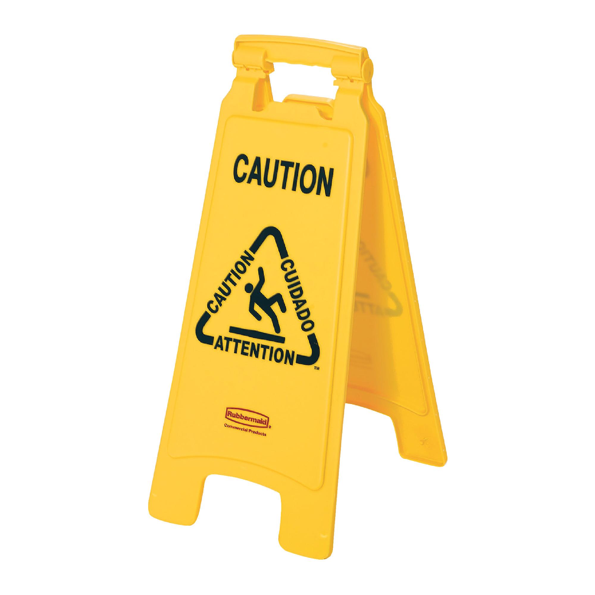 2 Sided Wet Floor Sign
