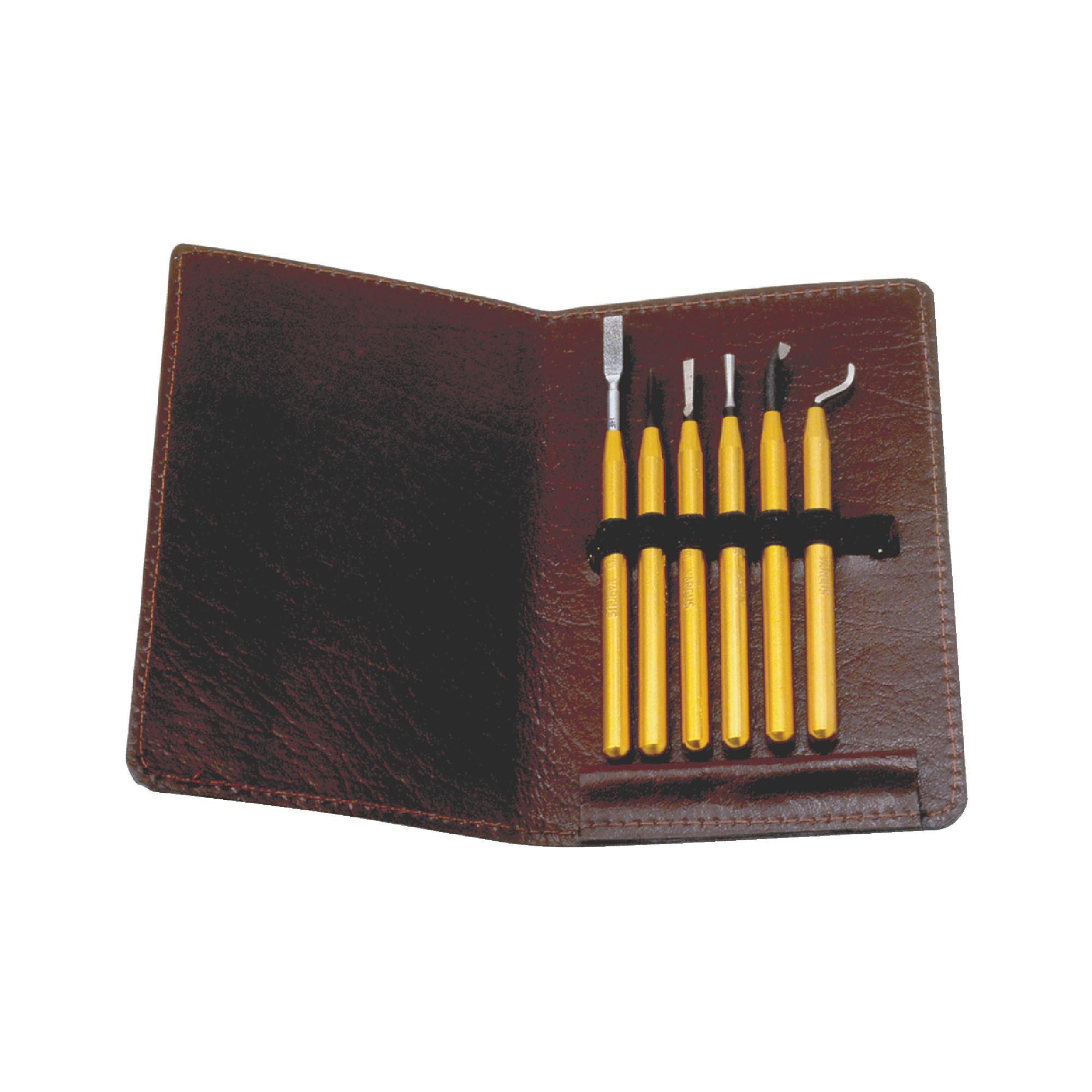 Miniature Deburring & Scraping Tool Set