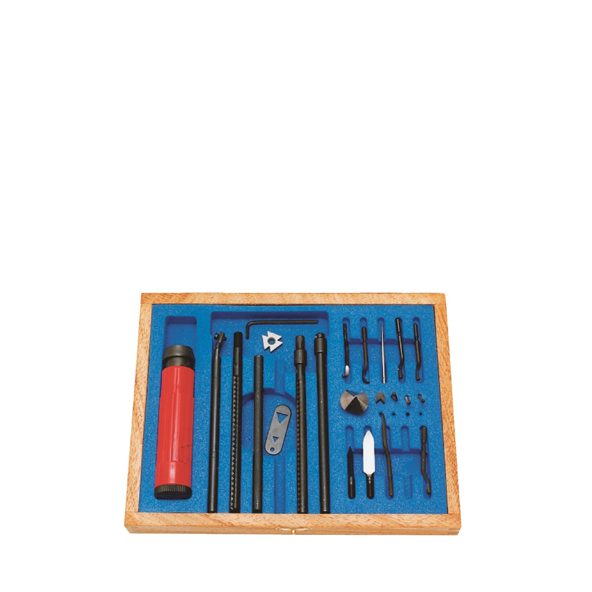 Complete Universal Deburring Tool Set