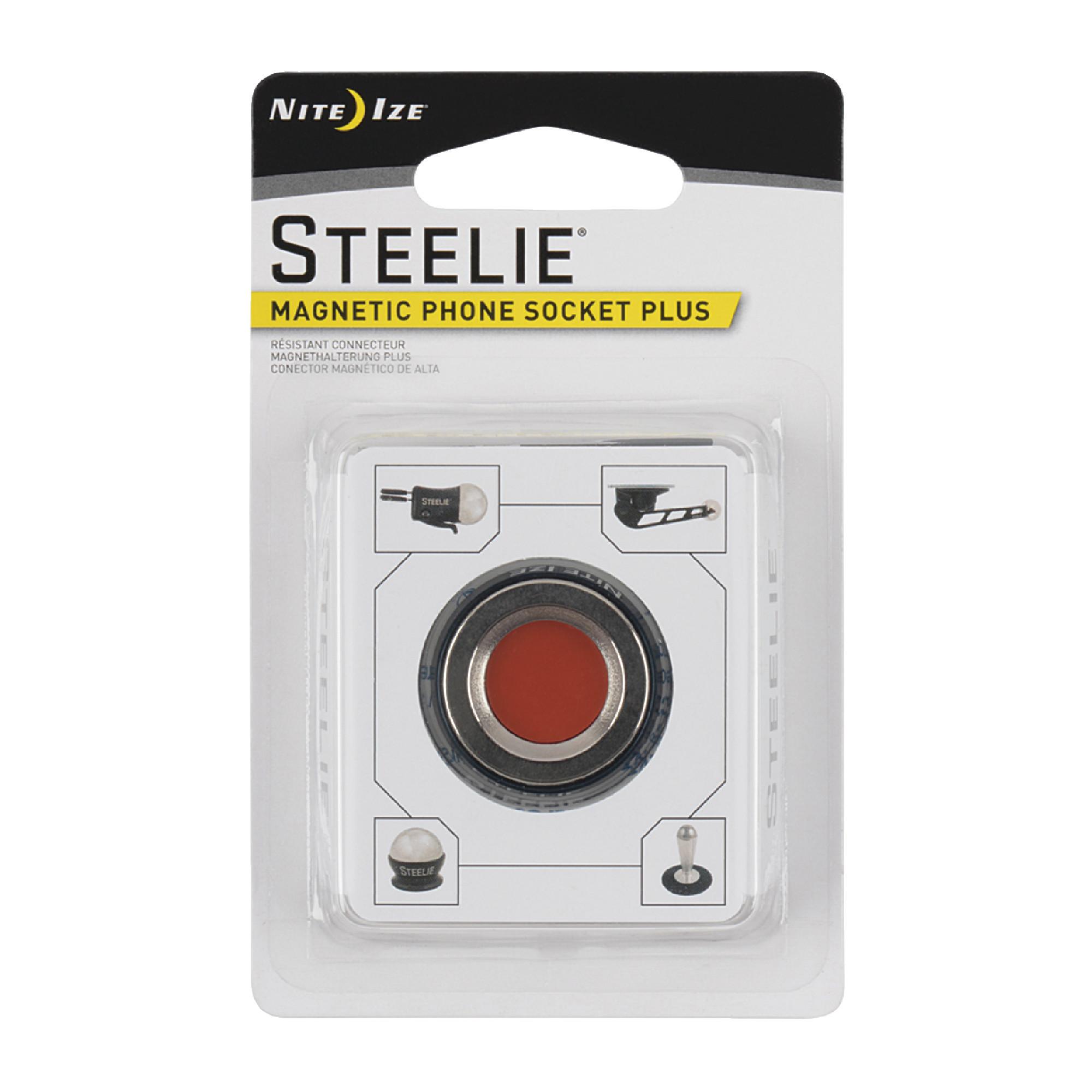 NITE IZE Steelie Magnetic Phone Socket Plus