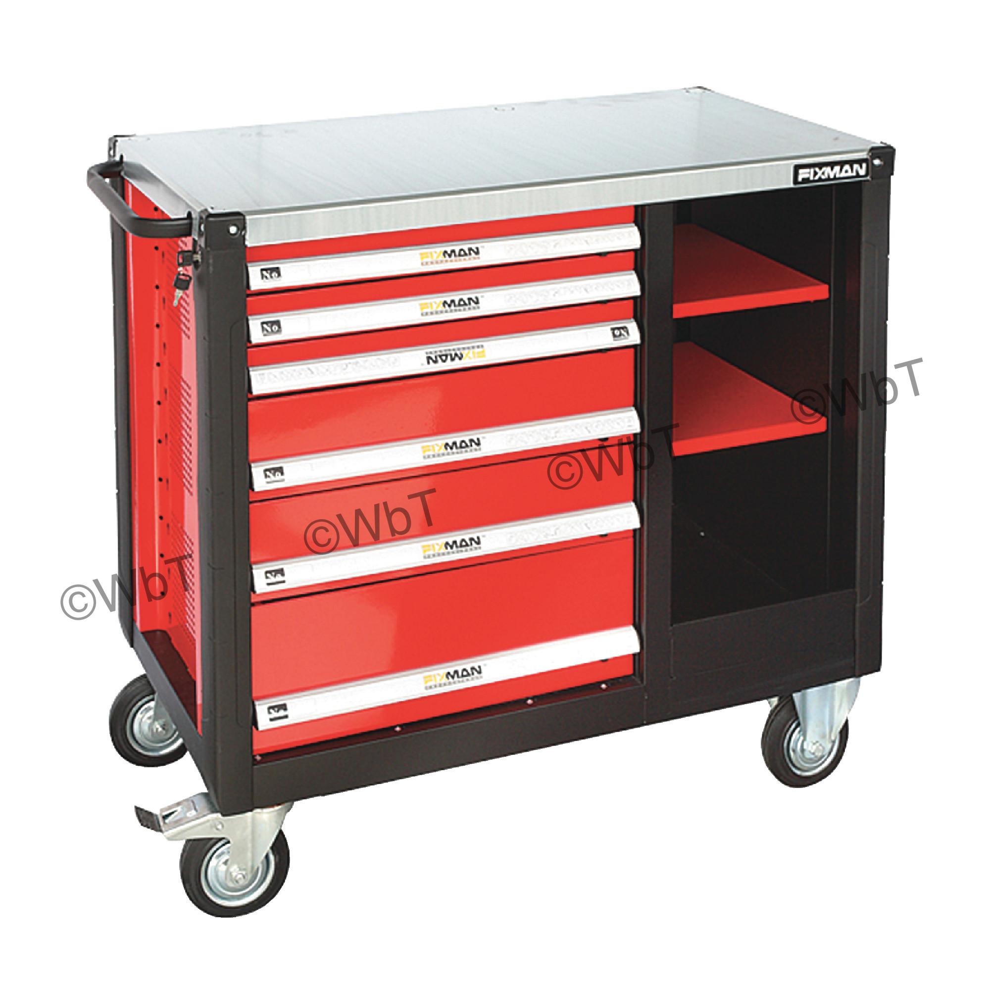 6 Drawer Mobile Workbench