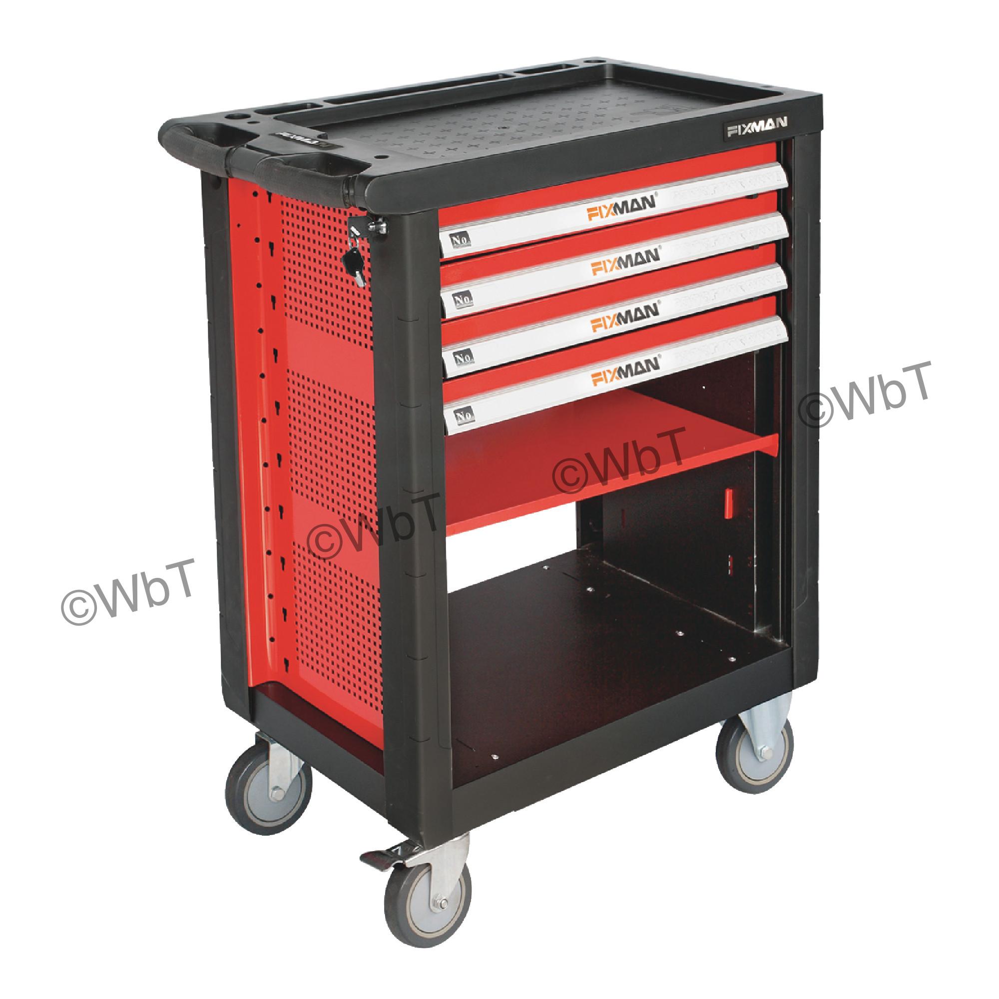 4 Drawer Roller Cabinet