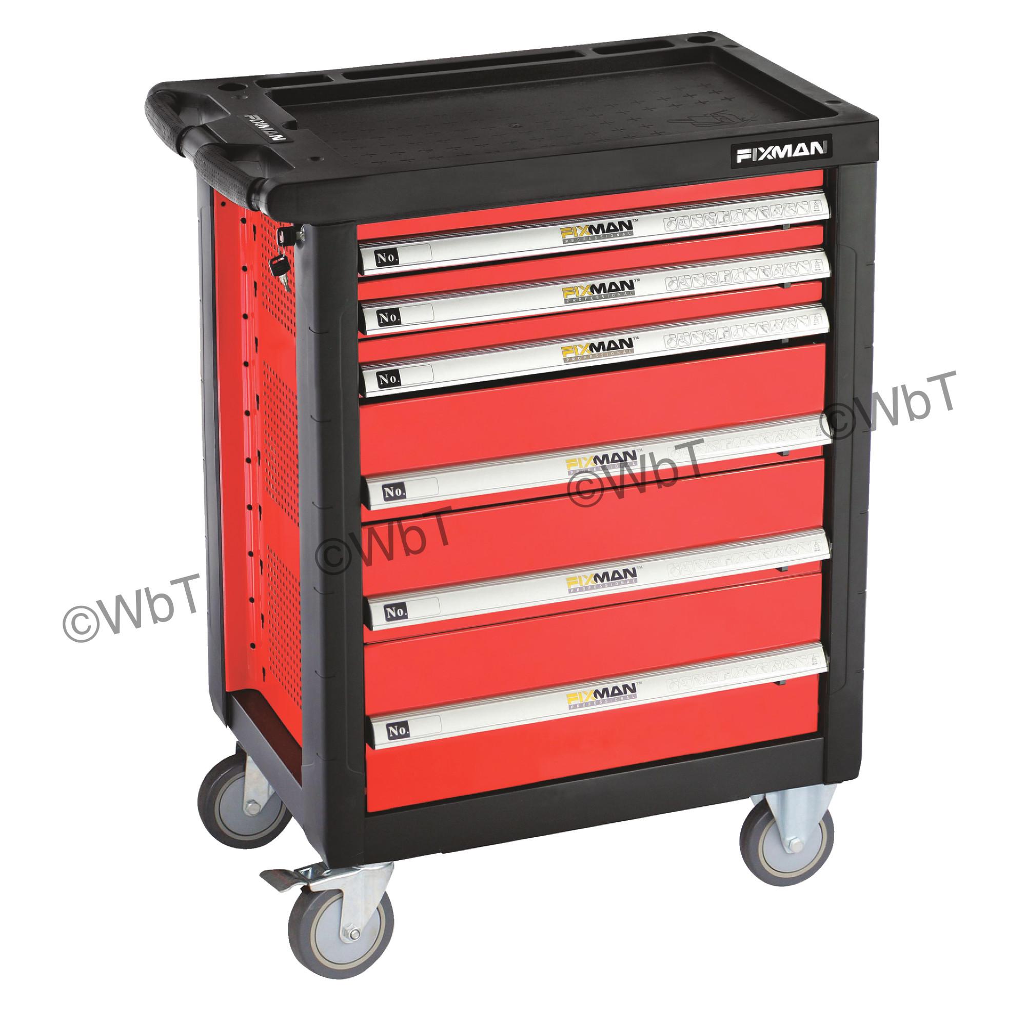 6-Drawer Roller Cabinet