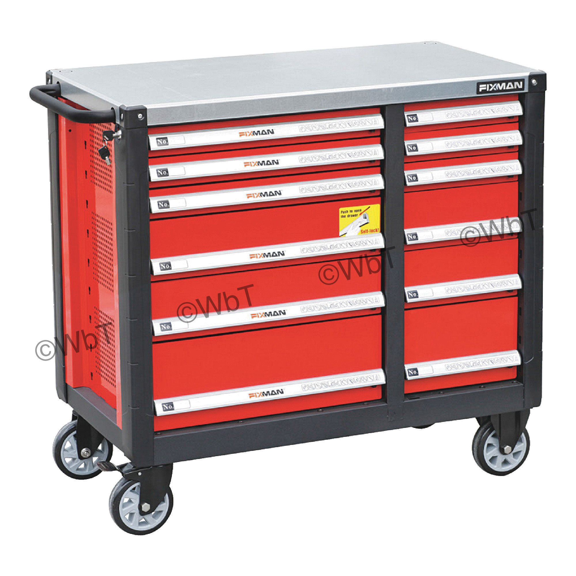 12 Drawer Mobile Workbench