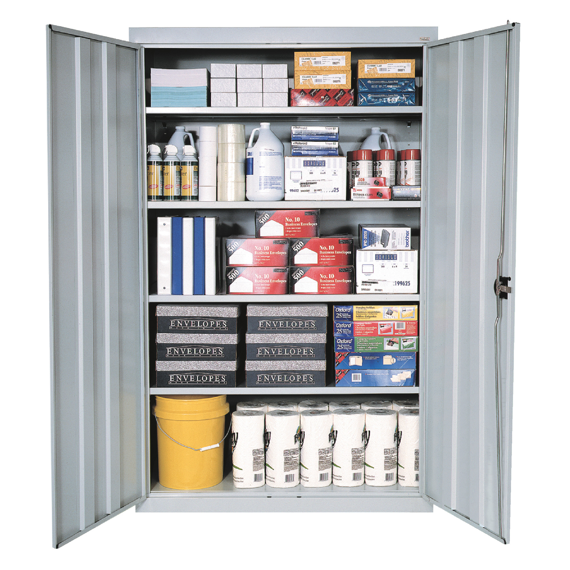 Heavy Duty Stationary Storage Cabinets