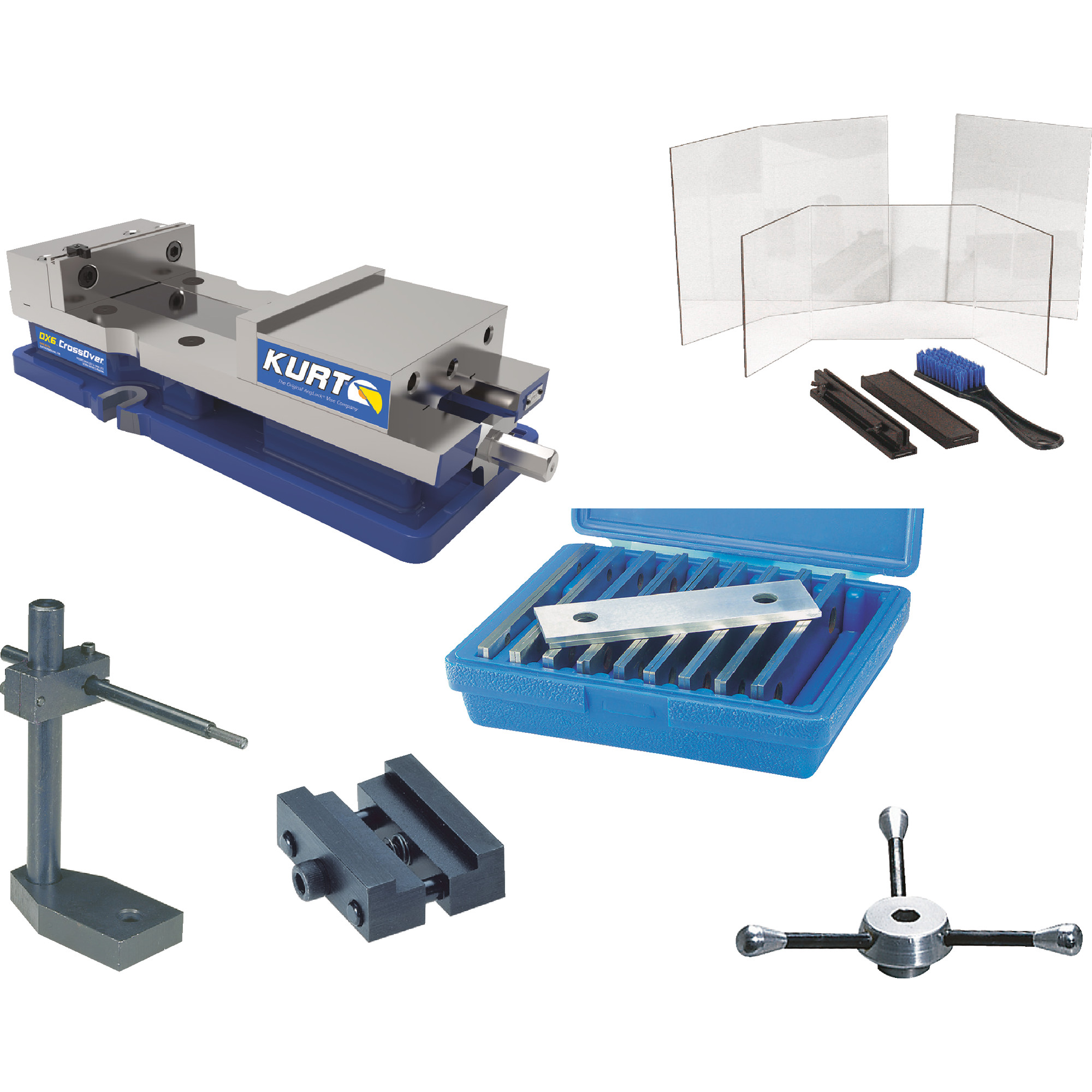 Vise With Accessories
